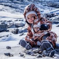 Сколько грамм утеплителя в Лесси и Рейма и на какую погоду и температуру?