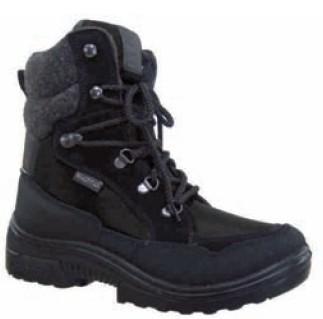 682fb5ee8 kuoma Nordik Финские зимние ботинки на шнурках мужские (черный ...