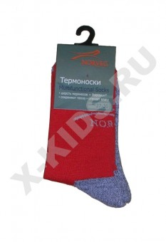 Термоноски NORVEG Multifunctional Socks (красный)