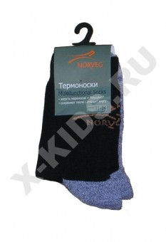 Термоноски NORVEG Multifunctional Socks (черный)